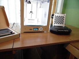 3D ULTIMAKER 2 MAKERBOT DIGITIZER + SENSE 3D SCANNER £2.625 ( OR Make a OFFER)
