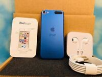 Blue iPod touch 6th gen 16gb