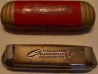 hohner harmonica chromonica 2 deluxe