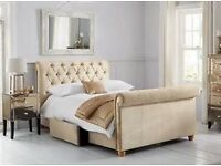 King Size Westcott Bed and Memory Foam Mattress from Next
