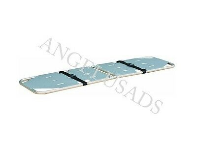 Medical Emergency Folding Portable Stretcher Aluminum Mobile Sport 191-mayday