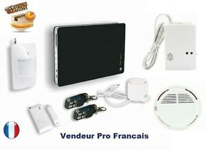 Systeme d 39 alarme maison d sign sans fil wifi iphone gsm for Alarme maison iphone