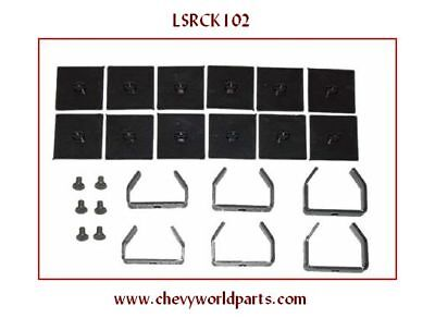 68-69 CAMARO NOVA 5 LEAF SPRING REBUILD CLAMP KIT