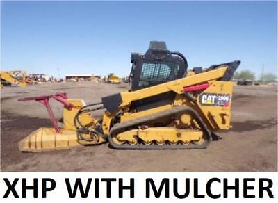 Mulcher 2014 Caterpillar 299d Xhp Heat Air Track Skid Steer Loader Cat 299d