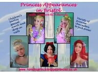 Princess Parties & Appearances in Bristol