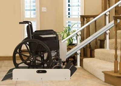 Handicap Lift (Harmar IL500 Residential Incline Platform Wheelchair Handicapped Stairway Lift )