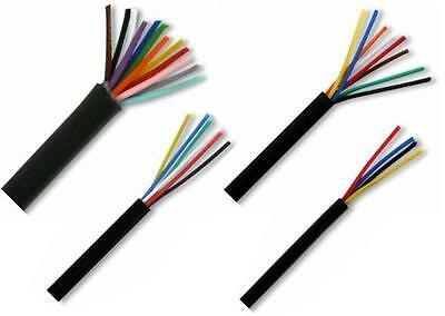 Multicore Cable 7/0.22 Small Power or Data Cable,in 4, 6, 8,12, 18, & 25 cores.