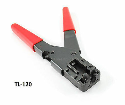Ratcheting Coax Installation Compression Tool - CablesOnline TL-120