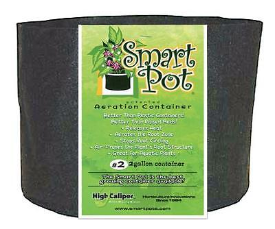 2 Gallon Black Smart Pots - 1 / 5 / 10 Pack Fabric Grow Container BEST