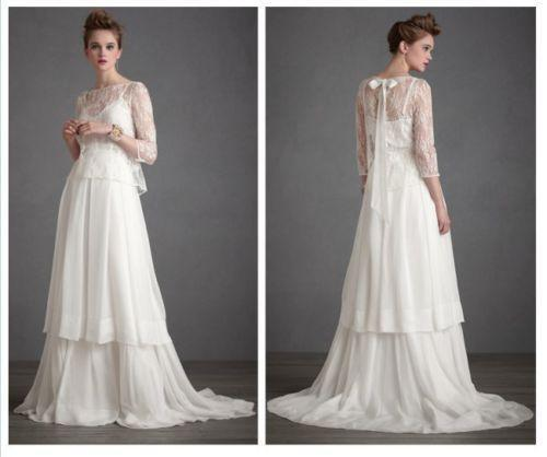 Anthropologie Wedding Dress