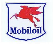 Mobil Oil Decal