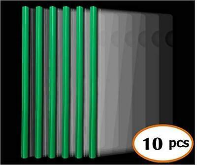 Plastic File Folder 10mm Sliding Bar Report Covers 20c 40 Sheet Capacity