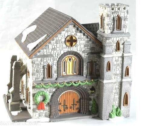 WHITTLESBOURNE CHURCH # 58211 RETIRED DICKENS VILLAGE DEPT 56 GREAT ARCHITECTURE