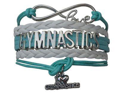 Girls Gymnastics Bracelet  Gymnastics Jewelry   Perfect Gift For Gymnast