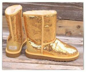 Gold Sparkle Uggs