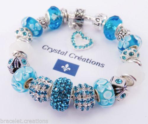 How To Put Charms On A Pandora Bracelet: Pandora Style Bracelet