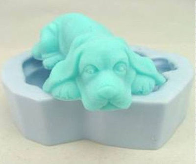 Soap Mold Moulds Puppy Dog Flexible Silicone Mold For Soap Candy