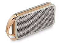 Beoplay A2 Bluetooth Speaker - Grey/Gold