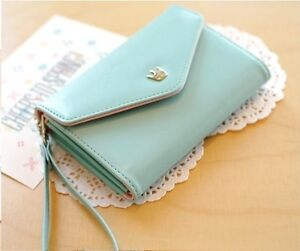 Mint Blue Wristlet Wallet Case Handbag Kitchener / Waterloo Kitchener Area image 1