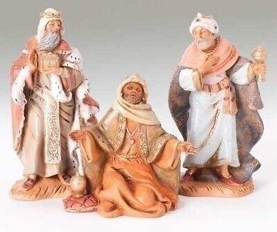 Fontanini 5 Inch Scale 3 piece set Kings Nativity Figures 71187