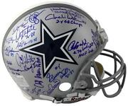 Dallas Cowboys Autographed Full Size Helmet