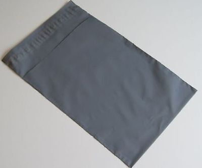 25 x Grey poly Plastic Mailing Bags 120 x 170 mm 5x7 5 x 7 small jewellery
