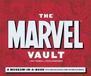 The Marvel Vault-Museum in a book