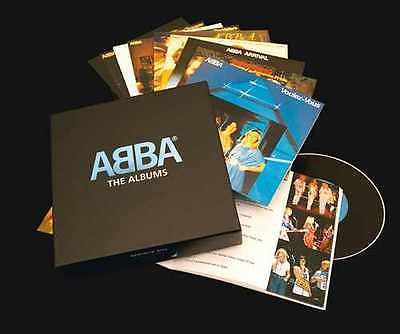 ABBA - The Albums (2008)  9CD Box Set  NEW/SEALED  SPEEDYPOST