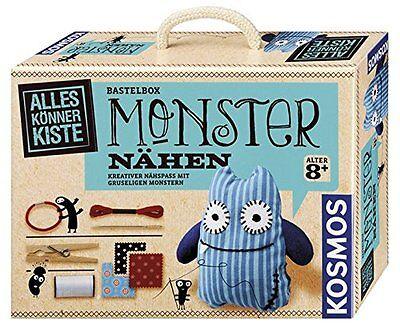 Kosmos Alles Könner Kiste Monster Nähen Basteln Malen Kinder-Bastelsets Spiel