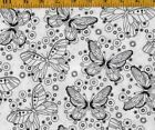 Butterfly Quilting Craft Fabrics