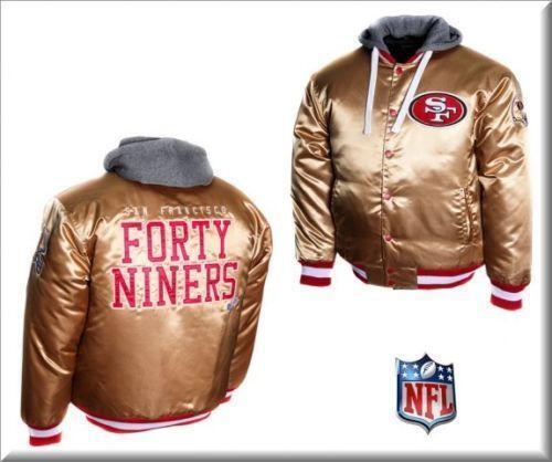49ers Satin Jacket Ebay