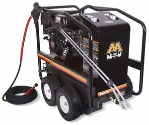 HSP Series Pressure Washers from Mi-T-M corporation