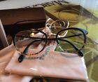 Tortoise Cats Eye Eyeglass Frames Folding Glasses