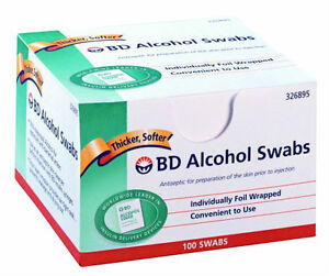 BD-ALCOHOL-SWABS-100-Box-Antiseptic-skin-cleanser