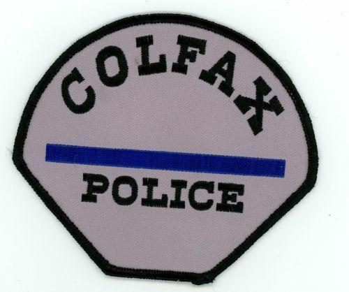 IOWA IA COLFAX POLICE NEW SHOULDER PATCH SHERIFF