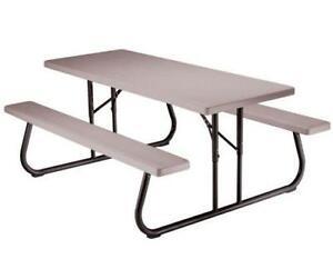 Picnic bench ebay plastic picnic bench watchthetrailerfo