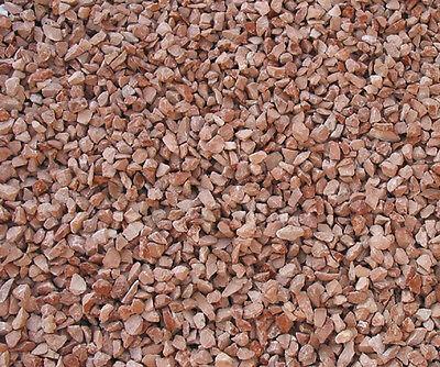 Graniglia di marmo Rosso Verona 8/12 mm 10 kg sassi pietre ornamenti x giardino