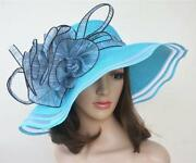 Blue Kentucky Derby Hat