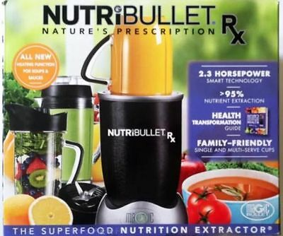 NutriBullet Rx 1700-Watt Blender NEW in Box Nutri bullet unopened ^^BRAND NEW^^