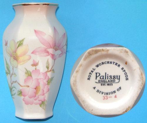 Royal Worcester Palissy Vase Ebay