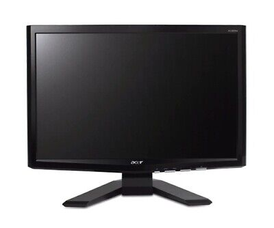 "Acer X193W Widescreen 19"" Computer Monitor VGA-DVI w Cables Free Shipping"