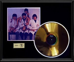BEATLES-BUTCHER-COVER-RARE-YESTERDAY-TODAY-GOLD-RECORD-DISC-LP-ALBUM-FRAME