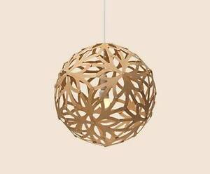 "David Trubridge ""Floral"" 400 pendant light Silkstone Ipswich City Preview"