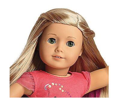 American Girl Isabelle Doll, Hair Extensions & Book-New