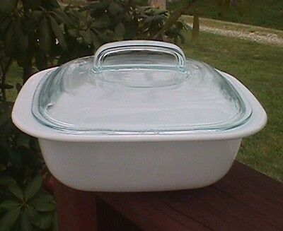 Corning Ware Simply Lite 1.5 Quart Casserole & Glass Lid on Rummage