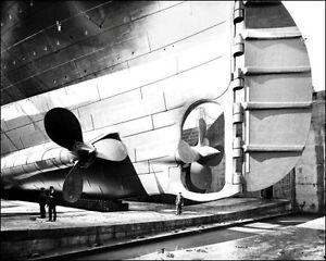 Titanic-5-Photo-8X10-Construction-Propellers-1911