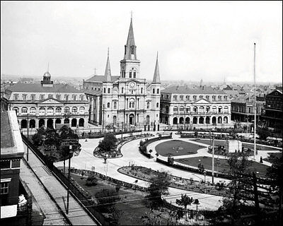 Jackson Square New Orleans #1 Photo - 1902 Louisiana