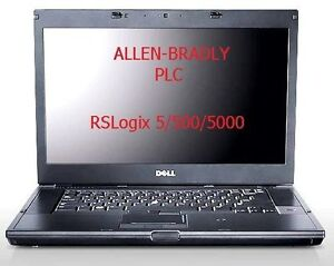 PLC LAPTOP WORKSTATION WITH ALL ROCKWELL SOFTWARE & MORE
