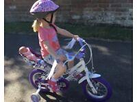 """Girls Raleigh Songbird Bike 12"""""""