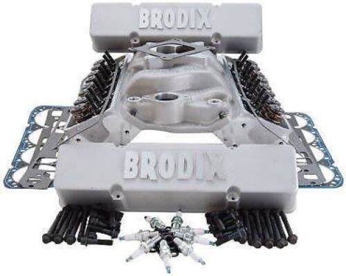 BRODIX SMALL BLOCK CHEVY COMPATIBLE TOP END COMBINATION 9991009